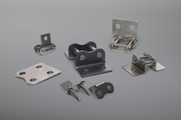 Straight Attachment Plates, Bent Attachment Plates